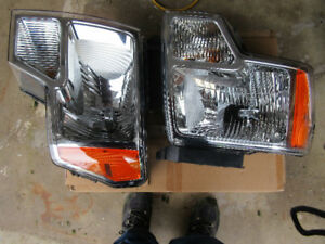 2014 f-150 right headlight and left, 80.00 each