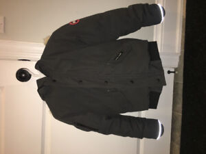 Youth Canada Goose Rundle Bomber