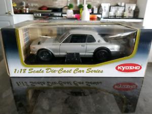 1:18 Diecast Kyosho Nissan Skyline 2000 GT-R KPGC10