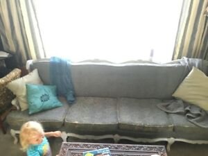 "Want to Swap/Sell 99"" Victorian Settee for Smaller Settee"