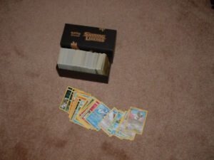 500 pokemon cards with a box lots of good cards no ex,gx