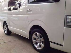 """17""""4wd WHEELS,fit TOYOTA Hiace,Colorado,Hilux,iload with235/55r17 Girraween Parramatta Area Preview"""