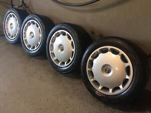 4 Gislaved Winter Tires on Volvo Rims - 205/55R16