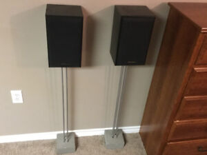 Panasonic 100w Speakers with weighted stands
