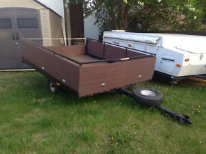 Utility or Snowmobile Sled Trailer