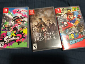 Nintendo switch games sociopath traveler splatoon 2 SuperMario