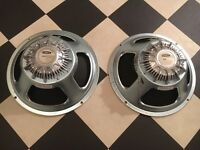 2 x Celestion G12 Century speakers (80w)