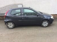 FIAT PUNTO ACTIVE 8V 1242cc LOW MILES YEARS MOT