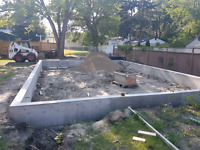 Looking for piles and/or a grade beam?