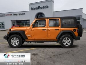 2018 Jeep Wrangler Unlimited Sahara 4x4  - Leather Seats - $338.