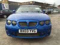 2003 MG ZT 2.5 190 4dr 4 door Saloon