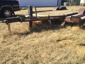 Sprayer Trailer, Grain Vac, and Bourgault Packer Bar