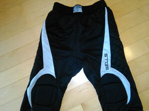 Soccer Goalie 3/4 pants by Sells Supreme, adult small