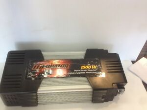 (sold) Motomaster Eliminator Mobile Power Inverter 1500 Watt