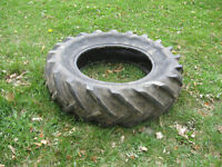 Used tractor tire