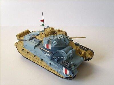 Modelik 09/10 -  Panzer A12 MATILDA Mk.III (1941) mit Lasercutteilen   1:25