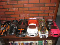 Six Assorted RC Bodies