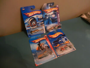 Hot Wheels Motorcycles Lot of 4 First Editions