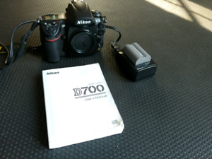 Priced for quick sale. Mint Nikon D700. Shutter count only 7900.