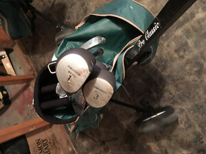 2 complete Gulf Clubs set OBO