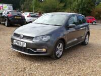 2017 Volkswagen Polo 1.0 75 Match Edition 5dr HATCHBACK Petrol Manual