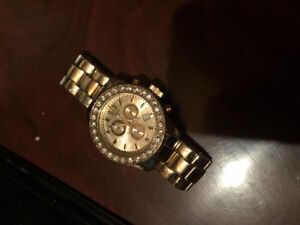 Gold ecko watch for sale 300$