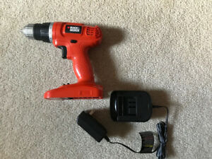 Black & Decker Cordless Drill & Charger