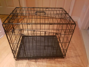 Cage pliable pour chien petit/moyen small/med dog cage