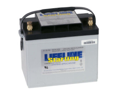 NEW 12V75Ah.650CCA. LIFELINE AGM BATTERY GPL-2400T