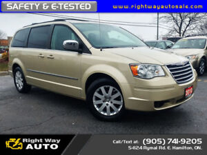 2010 Chrysler Town & Country Tour | LOW KMS | SAFETY & E-TESTED