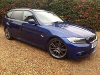 BMW 3 SERIES 318I SPORT PLUS EDITION TOURING 2011 LEATHER
