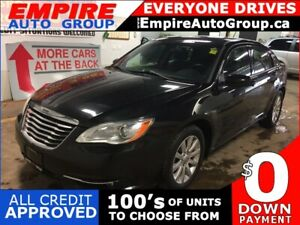 2012 CHRYSLER 200 TOURING * LEATHER * SUNROOF *