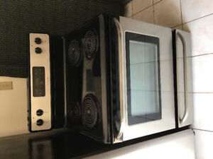 """Frigidaire coil stainless steel 30"""" electric stove range oven"""