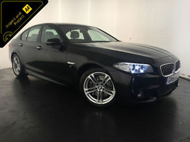 2015 BMW 535D M SPORT AUTO DIESEL 1 OWNER BMW SERVICE HISTORY FINANCE PX