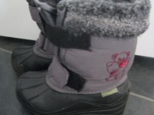 bottes d'hiver fille taille 9