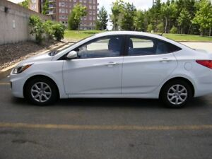 2014 HYUNDAI ACCENT GL SEDAN - ONLY 21000 KMS