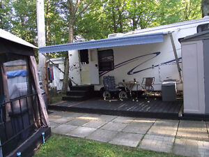 fifth wheel camping oasis