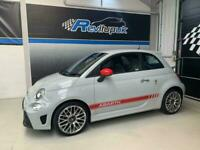 2018/18 ABARTH 595 1.4 T JET + ONLY 10K MILES FSH + CAMPVOLO GREY