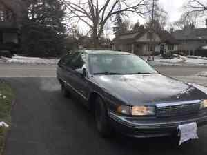 1991 Chevrolet Caprice Base Wagon