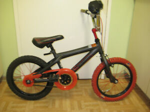 16'' bike HOT WHEELS with turbo ignition start tuned up