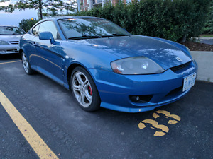2006 Tiburon Tuscani V6/6spd - Lady Driven