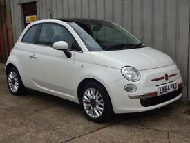 2014 (64) Fiat 500 1.2 LOUNGE £20 road tax *PCP deal £111 per month*