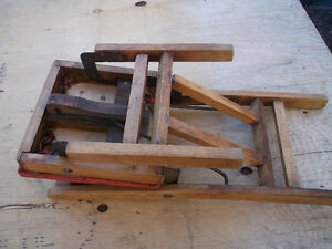 ANTIQUE LITTLE FOLDING CHAIR ( CHILDS ) Cornwall Ontario image 8