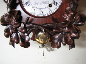 Hand carved, unique wall clock! Only one ever made!!!! London Ontario image 3