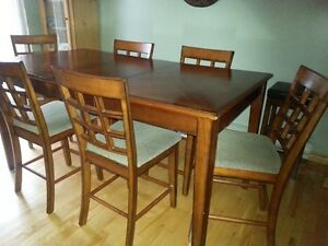 Pub Height Dining Table Set