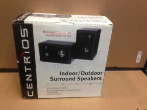 SOLD  --  Centrios Indoor Outdoor Surround Speakers