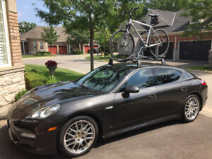 Porsche Panamera Roof-Rack System with 2 Bike Carriers