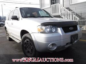2007 FORD ESCAPE LIMITED 4D UTILITY 4WD