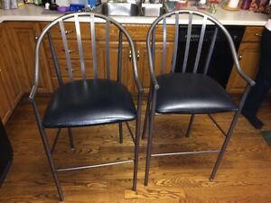 "Over-sized Bar stools / pub chairs 33"" tall"