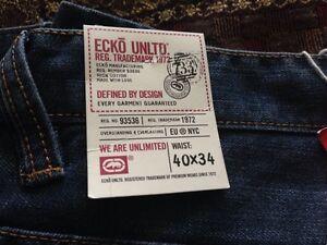 Mens Ecko Baggy Fit Jeans 40x34 Cambridge Kitchener Area image 2